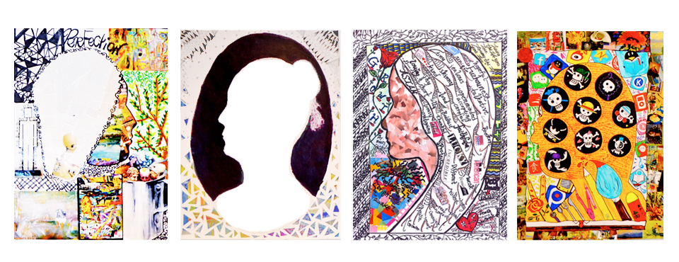 Student Work: Silhouette Portraits