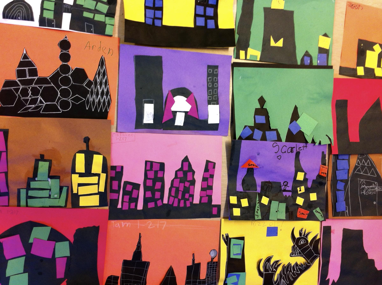 Cityscapes Collage (Grade 1)