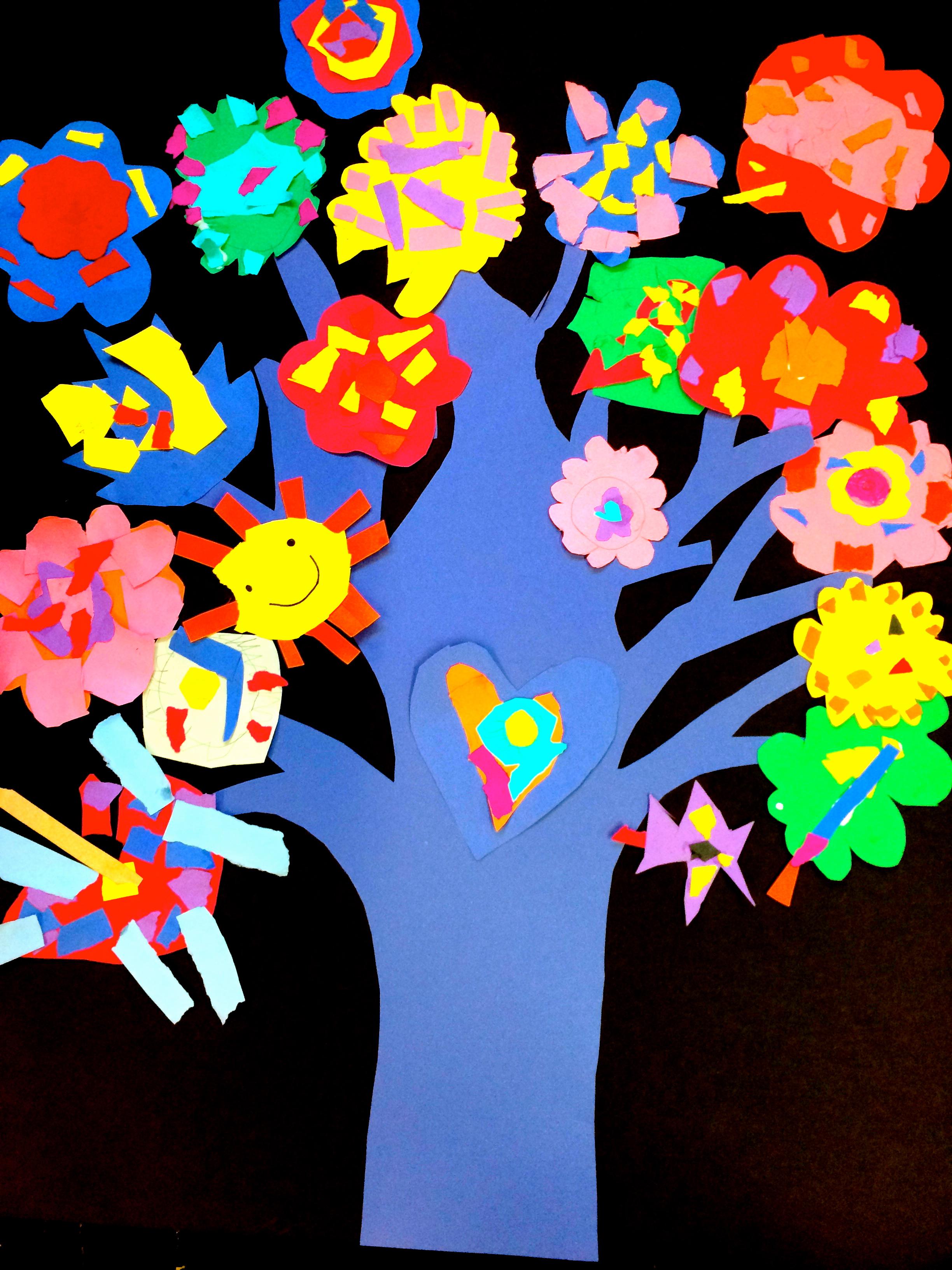 School Beautification Tree (Grade: Kindergarten)