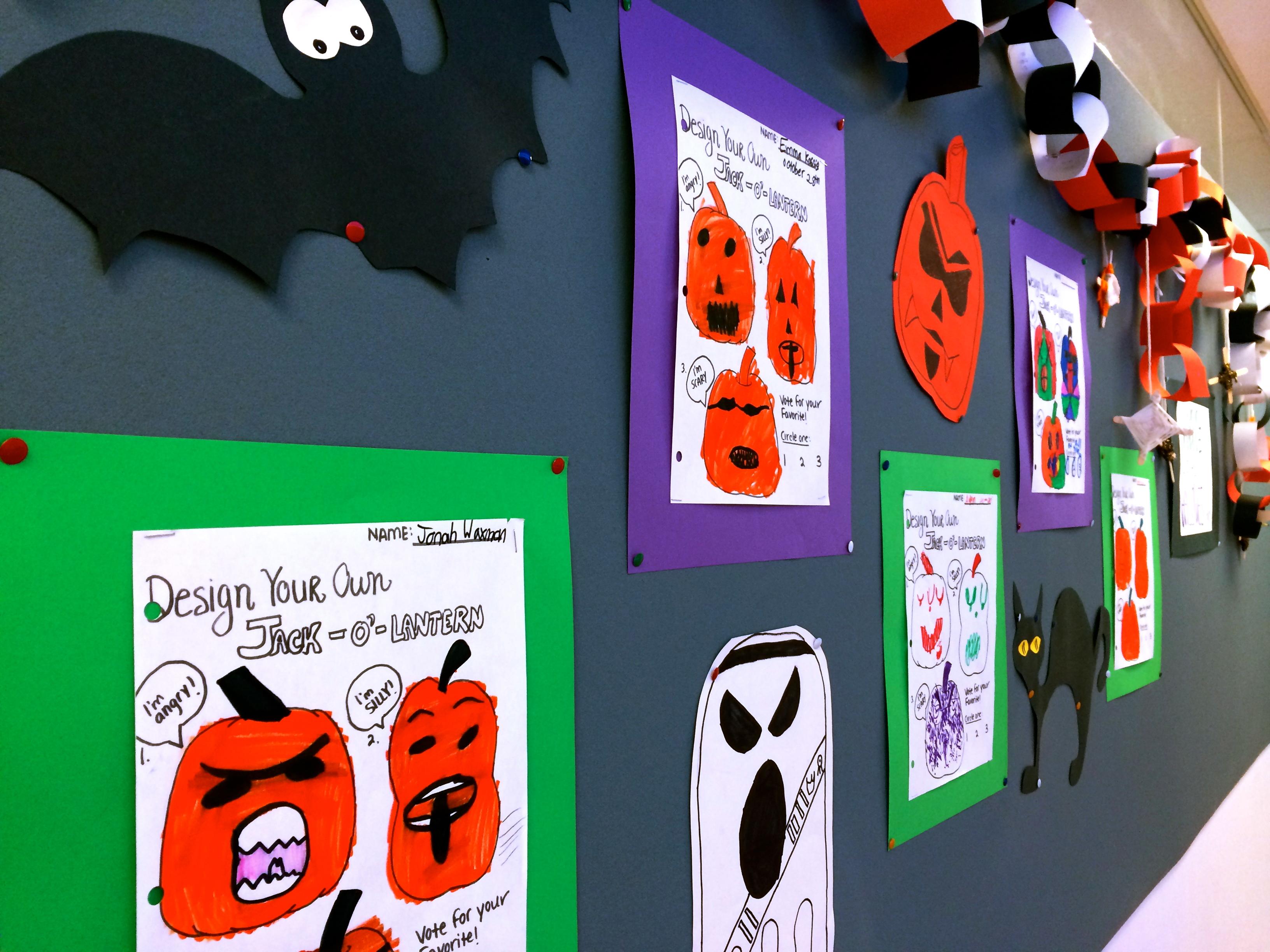 Halloween at Aaron School (Grade 5)