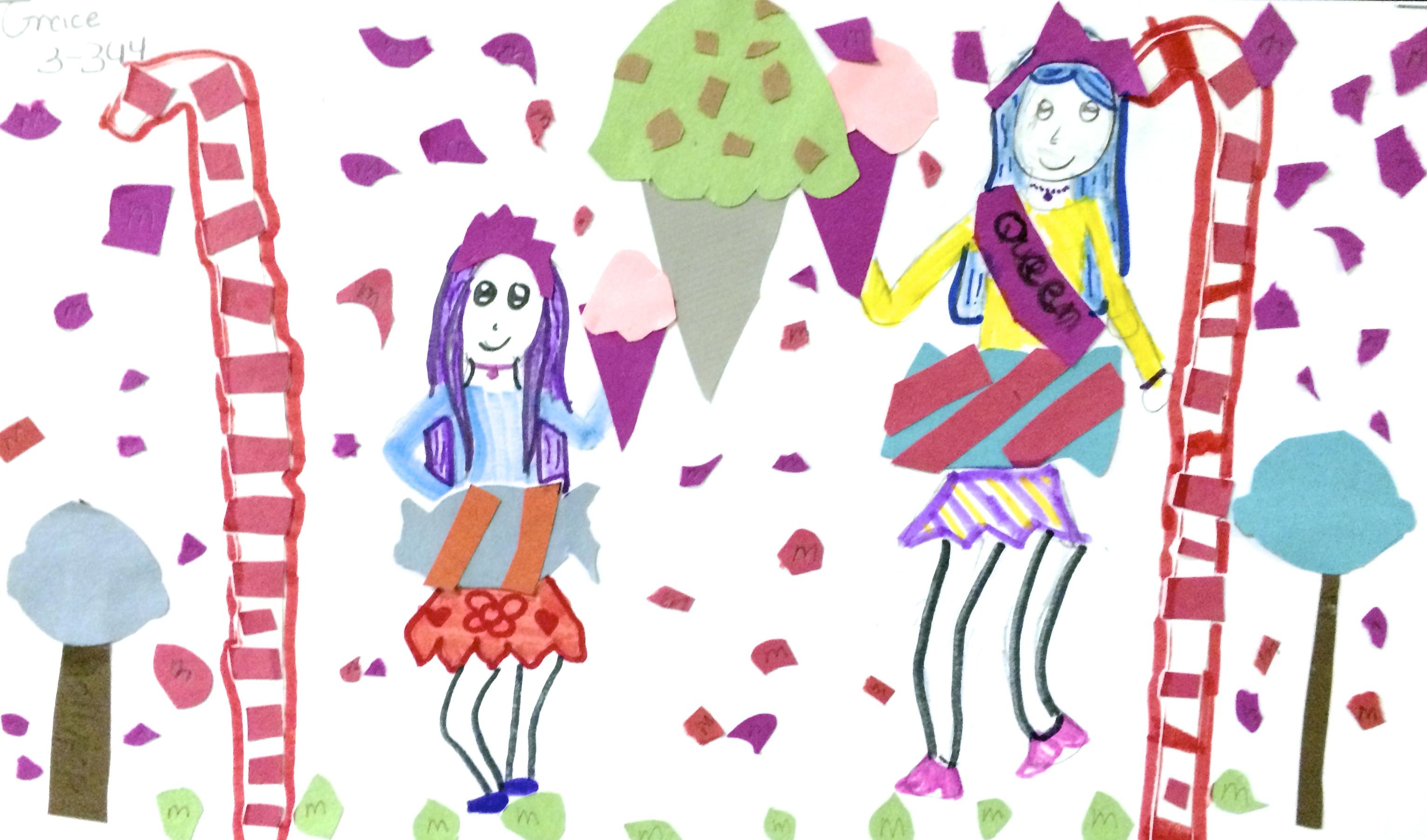 Manic Sundae. Surrealist Food Art (Grades 3-4)