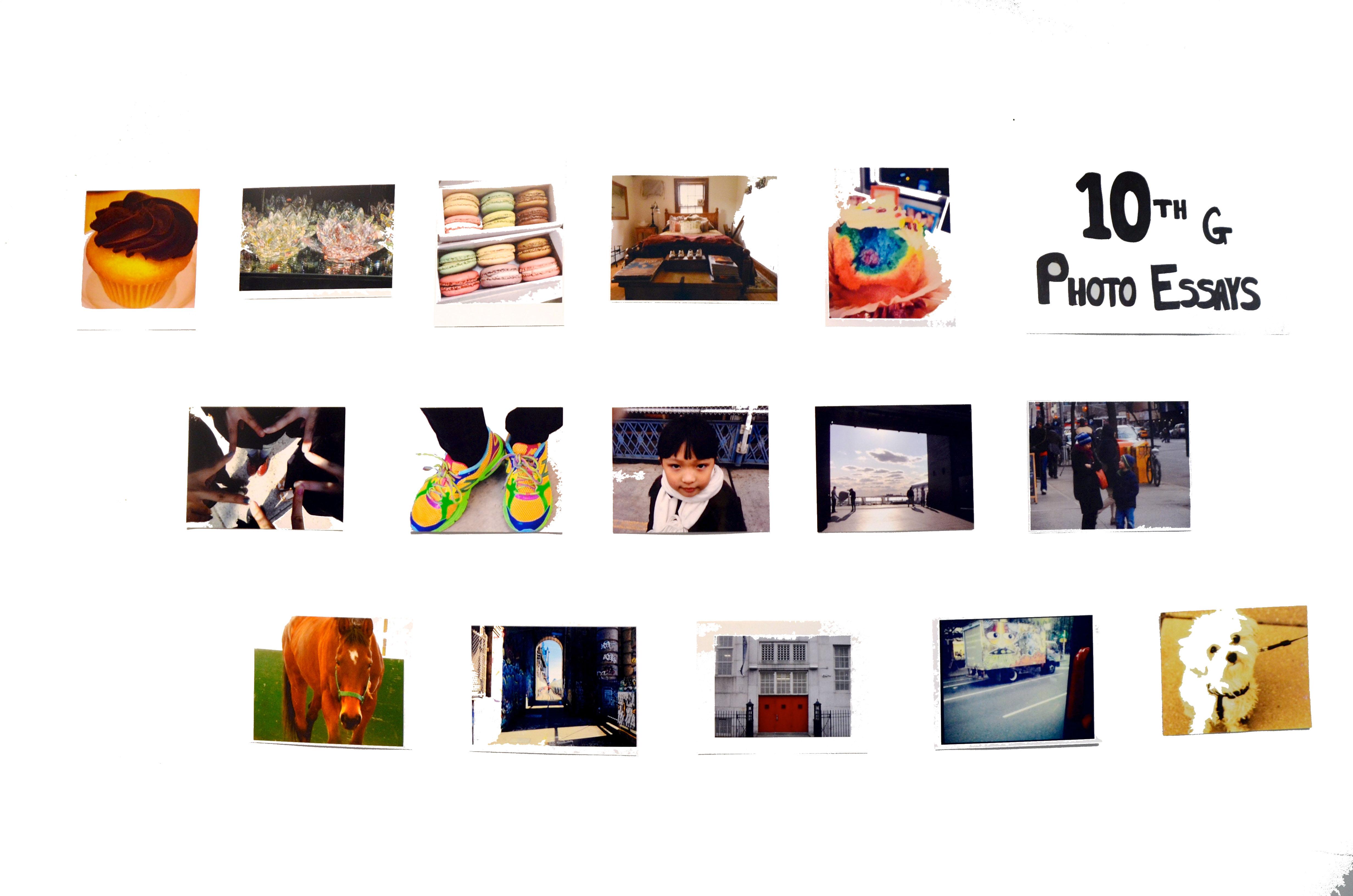 Photo Essays (Grade 10)
